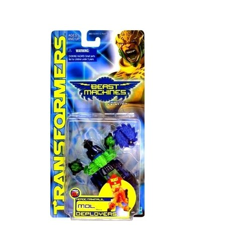 Transformers: Beast Machines Deployers Mol Action Figure