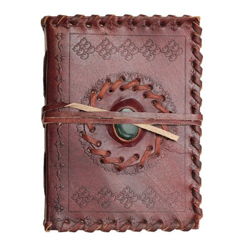 Collectible Leather Journal Medieval Diary Soft Paper 220 Pages (3 Styles) (Sm (Stone))