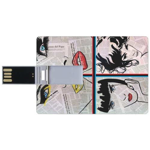 Many-Faces-Credit-Card-8GB-Pen-Drive