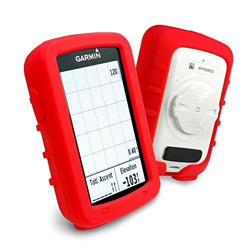 tuff-luv-custodia-silicone-gel-skin-per-garmin-edge-explore-820-rosso