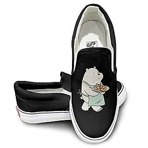 We Bare Bears Cook Canvas Low Top Sneaker 43