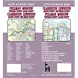 Pullman WA/Moscow ID/Clarkston WA/Lewiston ID Street Map