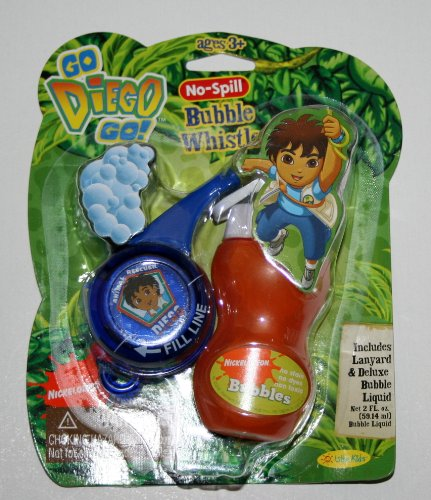 No-Spill Bubble Whistle Diego