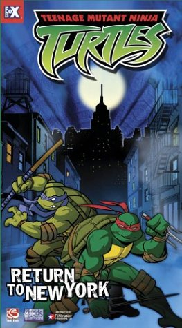 Teenage Mutant Ninja Turtles - Return to New York (Vol. 7) [VHS] - 1