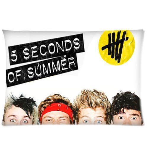 Cartrol Custom Rock Band 5 Seconds Of Summer 5SOS Rectangle Pillow Case 20x30 inches Two side Home Decoration For Lovers And Friends (5sos Merchandise For Girls compare prices)
