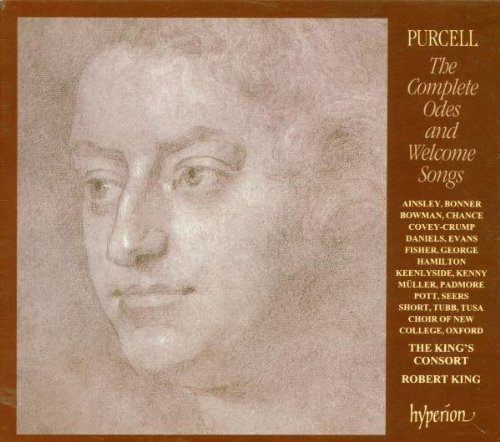 The Complete Odes and Welcome Songs of Henry Purcell King's Consort by John Mark Ainsley, James Bowman, Tessa Bonner, Michael Chance and Charles Daniels