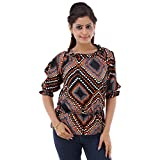 Fille Divin Women's Top (FDL-151007_Multi_Large)