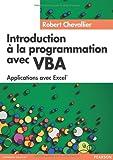echange, troc Robert Chevallier - Introduction à la Programmation avec VBA