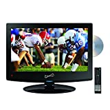 Top 10 LCD Televisions:  Supersonic SC-1512 15.6-Inch Class LED HDTV with Built-in DVD Player