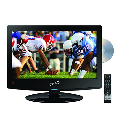 Sale!! SuperSonic 1080p LED Widescreen HDTV with HDMI Input, AC/DC Compatible for RVs and Built-in D...