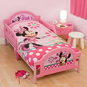Minnie Mouse Toddler Bed: Amazon.co.uk: Kitchen & Home