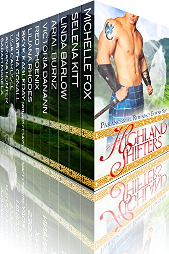 Grab 12 scorching hot shifter romances for one great price with this BOXED SET ALERT! Highland Shifters: Paranormal Romance Boxed Set by New York Times and USA Today bestselling authors – 99 Cents!!