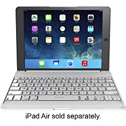 ZAGG ID5ZFN-WWB ZAGGfolio Keyboard Case for Apple iPad Air - White