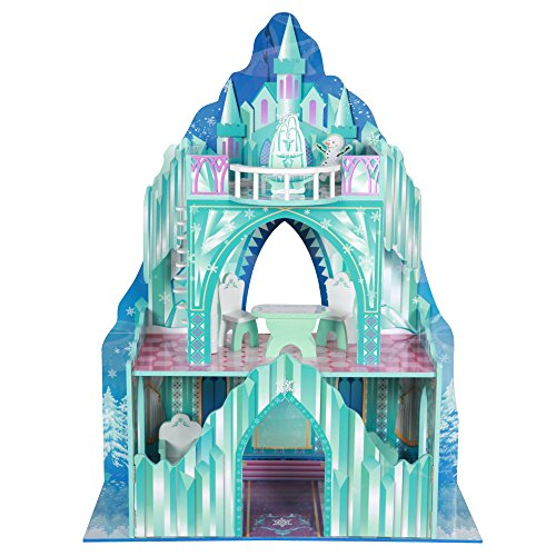 barbie frozen dollhouse kid design castle anna elsa