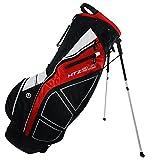 Hot-Z Golf 2.0 Stand Bag, Black/Red/White