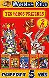 echange, troc Coffret Tes héros préférés 5 VHS : Scooby-Doo / Les Looney Tunes passent à l'action / Tom et Jerry, vol.1 /  Les Meilleure