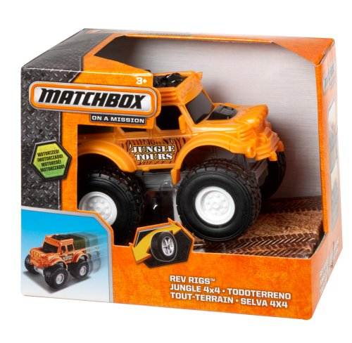 Matchbox 4x4 Rev Rigs Jungle