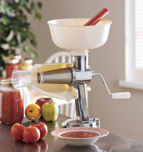 Professional Food Strainer and Sauce Maker with XL Hopper By Cucina Pro (Food Strainer compare prices)