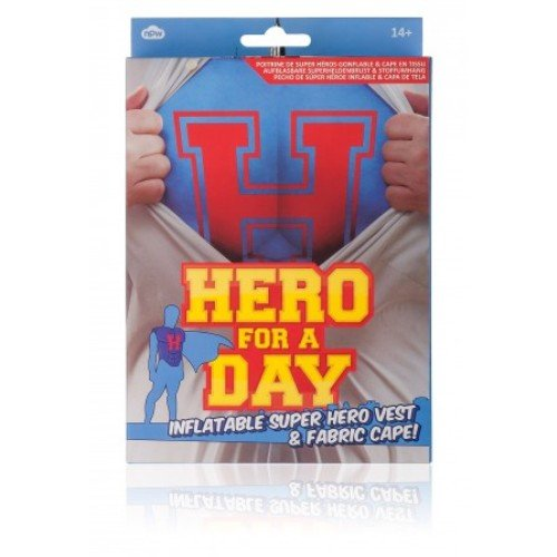 NPW Hero for the Day Superhero Inflatable Costume - 1