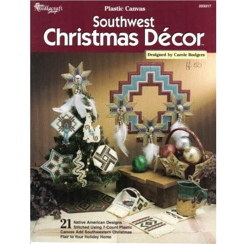 Plastic canvas southwest christmas decor 21 native for American christmas decoration