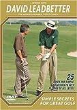 David leadbetter simple secrets/great golf dvd
