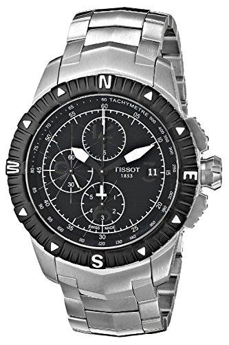 Herren-Armbanduhr Chronograph Automatik Edelstahl T062.427.11.057.00