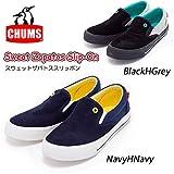 (チャムス)CHUMS ch63-0027 スニーカー Sweat Zapatos Slip-On/ CH63-0027 L NavyHNavy