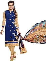 pakiza design new blue dress material