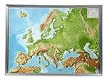Europa klein 1:16.000.000 mit Rahmen:...