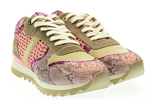 APEPAZZA donna sneakers basse DLY05 DAFNE Rosa/ Grigio 37 Rosa-Grigio