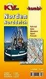 Norden / Norddeich 1 : 15 000: Freizeitkarte 1:25.000, Cityplan 1:7.500. Fahrrad. Auto. Wandern. Sport. Freizeit Picture