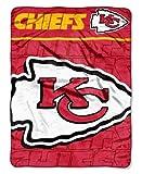 NFL Kansas City Chiefs Micro Raschel Throw Blanket, 46 x 60-Inch