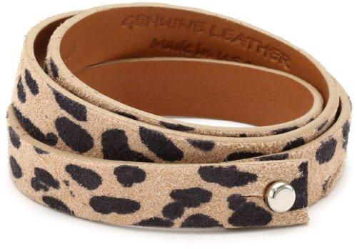 Leighelena Leopard Triple Wrap Bracelet