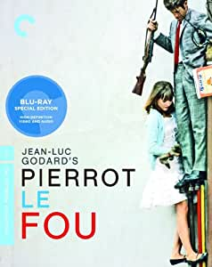 Pierrot le fou (Criterion Collection) [Blu-ray] (Version française) [Import]