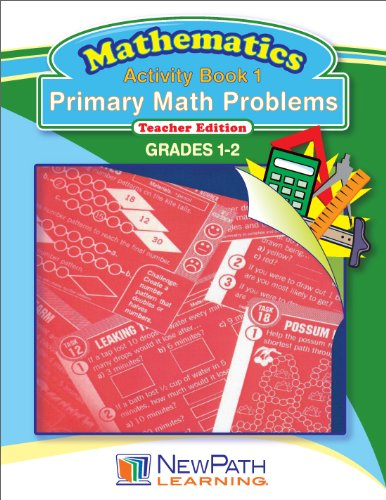 NewPath Learning Primary Math Problems Reproducible Workbook, Grade 1-2