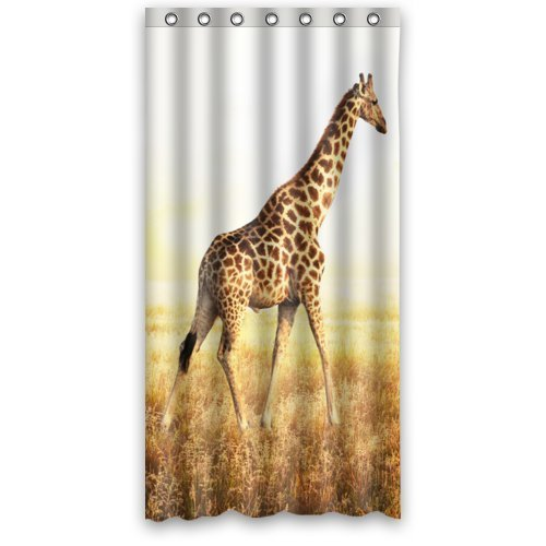 Girafffe Shower Curtain - Safari Shower Curtains