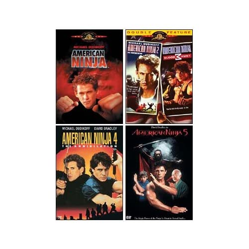 Amazon.com: American Ninja Collection (1 / 2 / 3 / 4 / 5