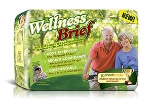 Wellness Briefs Original, w/ NASA Technology, Large, Pack/20 from Unique Wellness