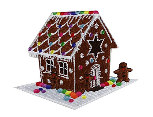 Application Holiday Gingerbread House Patch - 1