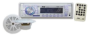 Pyle PLMRKT33WT Autoradio CD/DVD