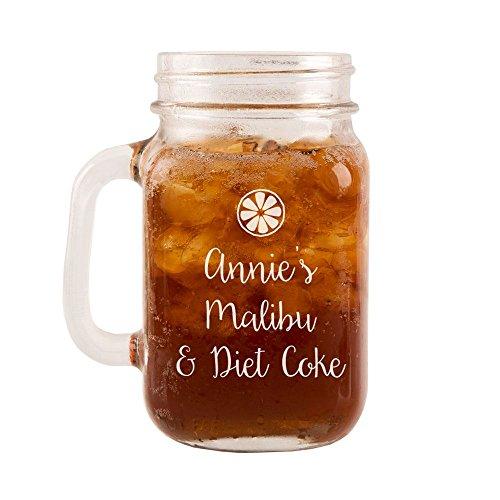 incisione-personalizzata-malibu-diet-coke-vetro-mason-jar-casa-idee-regalo-accessori-per-feste