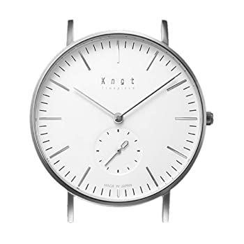 Knot(ノット) [ノット] 腕時計 CS-36SVWH ユニセックス大人 (バンド別売)
