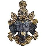 RAJKRUTI Earthenware Decorative Ganesha / Ganesh Wall Hanging Home Decor Showpiece Gift (13 Cm X 4 Cm X 20 Cm,...