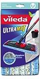 Vileda 129052 UltraMat Wischbezug extra feucht - für die extra feuchte Reinigung Ihrer Fliesen und Steinböden - passend zum UltraMat System - bekannt aus TV
