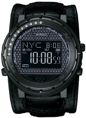 WIRED h (ワイアード エイチ) 腕時計 ソーラー 電波時計 AGWH017 メンズ