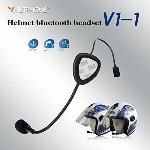 Pawaca Black Wireless Bluetooth Helmet To Helmet Intercom Headset For Motorbike Motorcycle Scooter