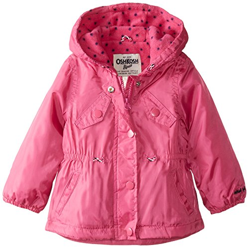 Osh Kosh Baby Girls' Lightweight Single Jacket, Pink, 18 Months