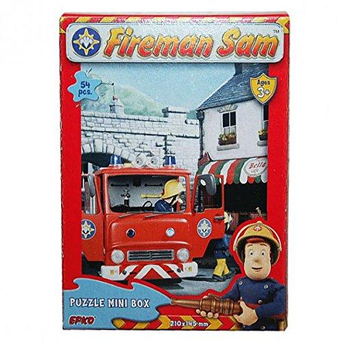 Feuerwehrmann Sam - Mini Puzzle 54 Teile - Motivauswahl, Typ:Puzzle A