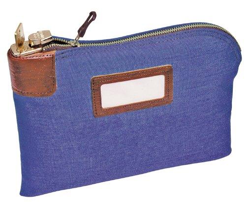 MMF Industries Night Deposit Bag 8 1 2in H x 11in W 3-Ply Nylon Navy BlueB00006ICA5 : image