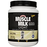 Cheap CytoSport Muscle Milk Light 750 g Vanilla Whey Protein Shake Powder On sale-image